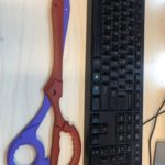 海外の反応 【キルラキル】纏流子の片太刀バサミを3Dプリンターで作った
