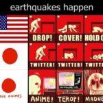 地震が起きた時の対応、⽇本⼈が研究されとる︕